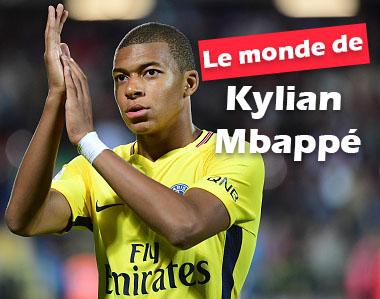 Le monde de Kylian Mbappé