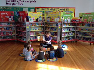Book Fair - Tang Hall School - Story Time