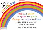 I can sing a rainbow – poster
