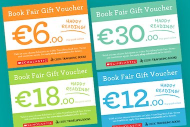 Book Fair Gift Vouchers blog image - Ireland
