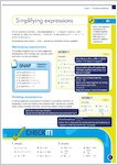 GCSE Grades 9-1: Maths Foundation Revision Guide and Exam Practice Book for All Boards Stretch it, Snap it, Work it, Check it examples (1 page)