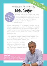 Eoin Colfer We Are Writers Introduction image