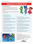 PJ Masks activity pack (4 pages)