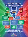 PJ Masks classroom poster (1 page)