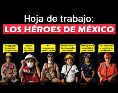 Hoja de trabajo: Los héroes de México