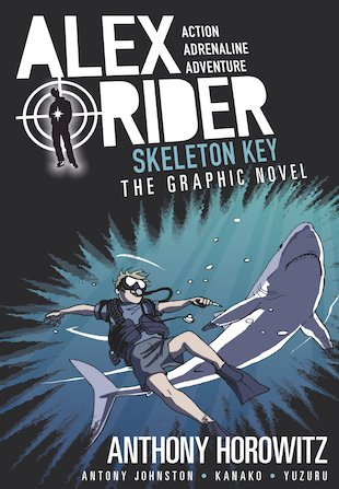Alex Rider: Skeleton Key Graphic Novel