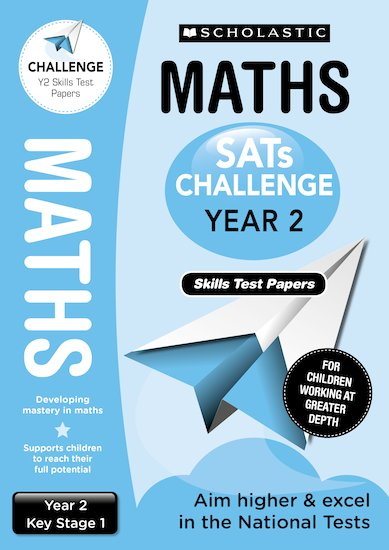 SATs Challenge: Maths Skills Test Papers (Year 2) x 10