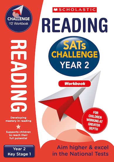 SATs Challenge: Reading Workbook (Year 2) x 10