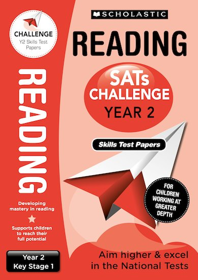 SATs Challenge: Reading Skills Test Papers (Year 2) x 10