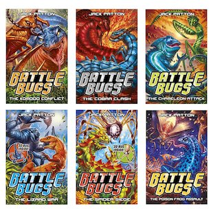 Battle Bugs Pack x 6