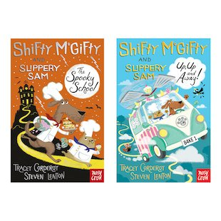 Shifty McGifty and Slippery Sam Readers Pair