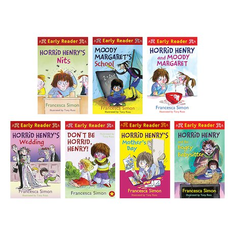 By Francesca Simon Author And Tony Ross Illustrator Horrid Henry Early Readers Pack