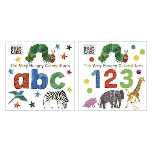 The Very Hungry Caterpillar ABC and 123 Pair