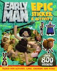 Early Man Epic Sticker Act Bk