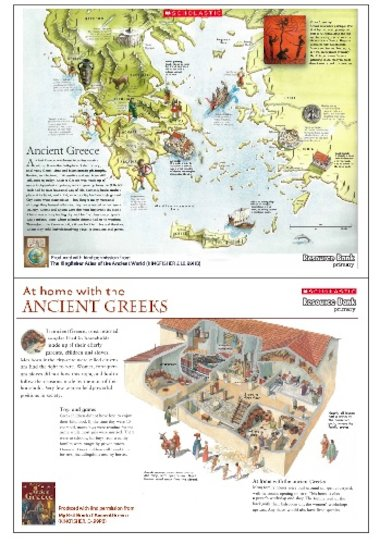 Ancient greece map and household poster primary ks2 teaching click to download gumiabroncs