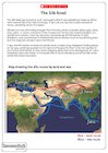 Activity sheet 3: The Silk Road