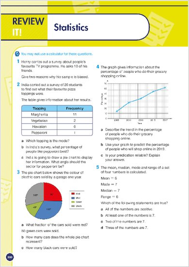 GCSE Grades 9-1: Maths Foundation Revision Guide for AQA review of topic