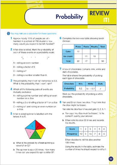 GCSE Grades 9-1: Maths Foundation Revision and Exam Practice Book for AQA review of topic