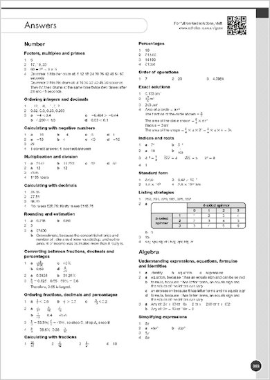 GCSE Grades 9-1: Maths Foundation Revision and Exam Practice Book for AQA answers