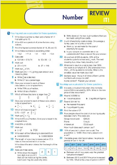 GCSE Grades 9-1: Maths Foundation Revision Guide for Edexcel review of topic