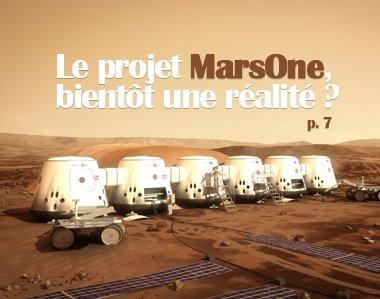 Le projet MarsOne, bientôt une réalité ?