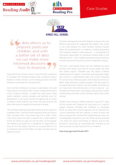 case study - kings hill school - scholastic reading audit and reading pro.pdf
