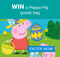 Win a Peppa Pig goody bag