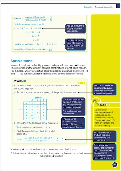 GCSE Grades 9-1: Maths Higher Revision Guide for AQA Work it and Nail it examples