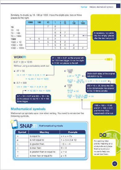 GCSE Grades 9-1: Maths Higher Revision and Exam Practice Book for Edexcel Work it Snap it and Do it examples