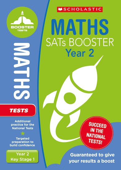 National Curriculum SATs Booster Programme: Maths Test (Year 2) x 10