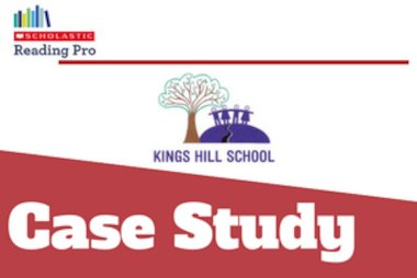 Kings Hill Scholastic Reading Audit and Scholastic Reading Pro case study blog tile