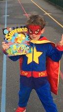 A SUPER World Book Day costume
