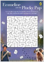 Emmeline and the Plucky Pup maze