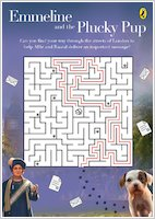 Emmeline and the Plucky Pup maze answer