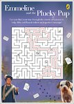 Emmeline and the Plucky Pup maze answer (1 page)
