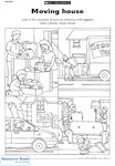 Moving house (1 page)