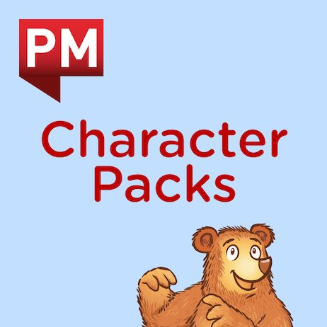 PM Character Packs: Little Chimp Character Pack Levels 3–13 (9 books)