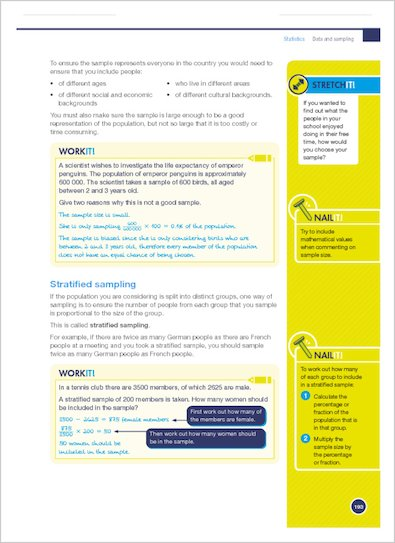 GCSE Grades 9-1: Maths Foundation Revision and Exam Practice Book for Edexcel Stretch it, Nail it and Work it examples