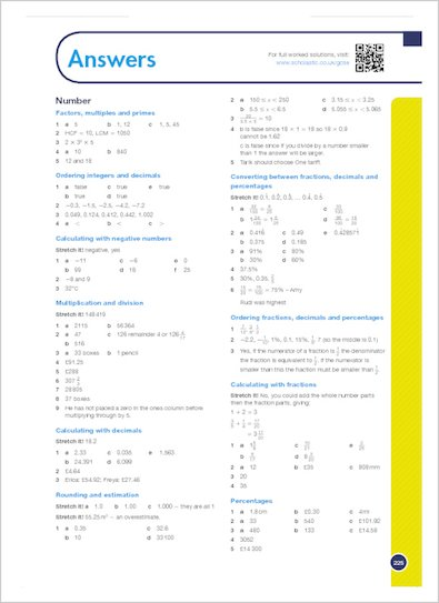 GCSE Grades 9-1: Maths Foundation Revision and Exam Practice Book for Edexcel answers