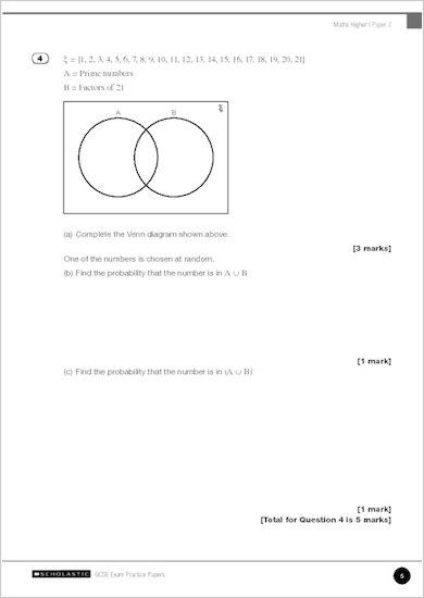 GCSE Grades 9-1 Practice Exams: GCSE Grades 9-1: Higher Mathematics Edexcel Practice Exams sample page