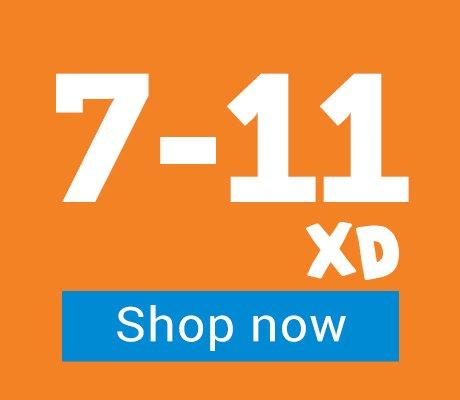 7-11 years - XD