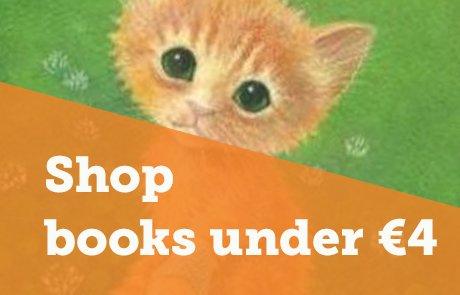 Shop books under €4