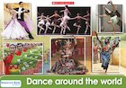 Dance around the world – poster