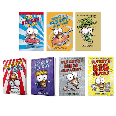 Fly Guy Pack x 7 (Books 11-18)