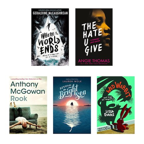 Highlights from the Carnegie Medal 2018 Shortlist Pack x 5