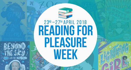 reading for pleasure week blog banner