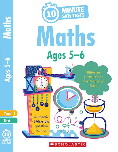 10-Minute SATs Tests: Maths - Year 1 x 6