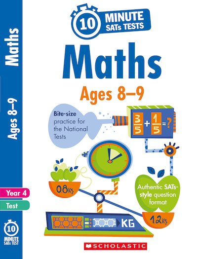 10-Minute SATs Tests: Maths - Year 4 x 6