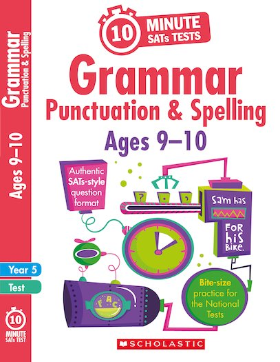 10-Minute SATs Tests: Grammar, Punctuation and Spelling - Year 5 x 30