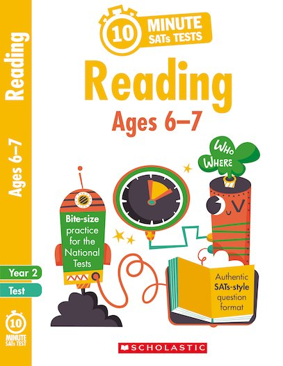 10-Minute SATs Tests: Reading - Year 2 x 30